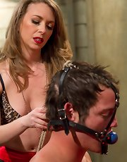Mistress T cuckolds and blackmails her gambling addicted husband
