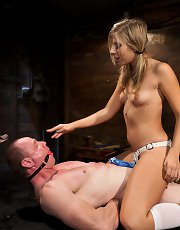 Brat Princess Cuckoldress with Chastity Lynn
