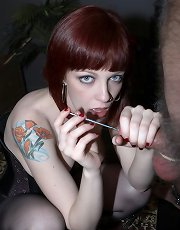 CBT with Mistress Sidney then squirting